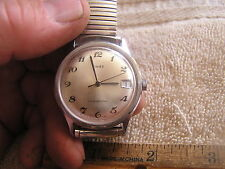 Vintage Timex Watch Date Water Proof