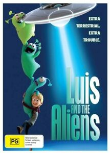 LUIS AND THE ALIENS DVD (2018) NEW & SEALED- FREE POSTAGE! REGION 4