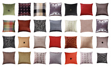 Decorative Pillow Cover Geometric Jacquard Micromink Sofa Couch Cushion 18 x 18