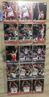 1992-93 UD Basketball All Rookies #AR Mutombo/Smith Lot of 15 Basketball Cards