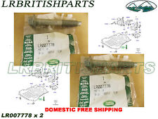 LAND ROVER ENGINE SHIELD BOLT 10X65 RANGE ROVER SPORT LR3 LR4 OEM SET 2 LR007778