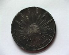 MEXICO 1837-ZSOM SILVER 8 REALES EXTREMELY FINE++