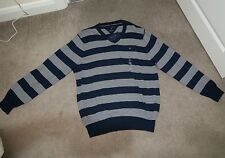 Mens long sleeve stripe t-shirt XL