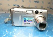 Samsung Digimax 420 4.0MP HD Digital Camera 12x Zoom Lens - Excellent