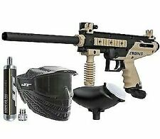 Raptor Tippmann Cronus Paintball Gun Semi Auto - Power Pack - Gun Tank Hopper