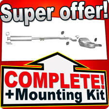 Volvo S60 2.4 140/170 HP 2000-2002 Silencer Exhaust System M21