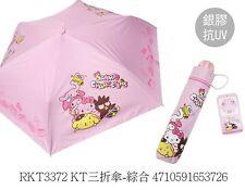 2017 Sanrio Hello Kitty&Friends Folding Umbrella Uv Cut - Pink