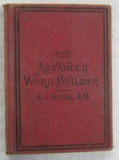 Advanced Word Builder A J Beitzel Christopher Sower Pub 1904