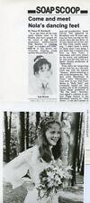 LISA BROWN KRISTEN VIGARD GUIDING LIGHT RARE ORIGINAL 1982 CBS TV PRESS MATERIAL