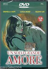 Un solo grande amore (1972) DVD NUOVO SIGILLATO Ornella Muti. Lucia Bosè. G. Lee