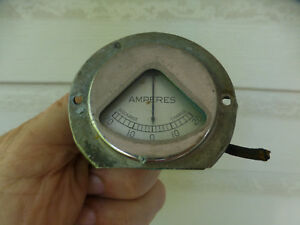 1920s-1930 Antique Vintage Amperes Instrument cluster gauge  Hudson Essex Ford