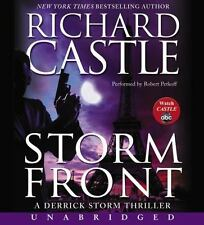STORM FRONT unabridged audio book CD by RICHARD CASTLE - Brand New 9 CDs 10 Hrs!