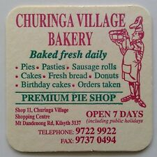Churinga Village Bakery Premium Pie Shop Kilsyth 97229922 Coaster (B271-12)