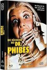 Mediabook Die Rückkehr Des Dr.Phibes Vincent Price Cover C Limited Blu-Ray DVD