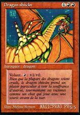 Dragon Shivân FBB 3ème bords noirs - French Shivan Dragon - Magic Mtg - Inked