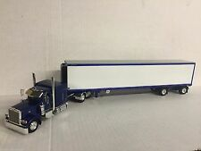 Peterbilt 389 sleeper with (Viper Blue) 53' spread  axle Reefer van