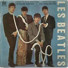 THE BEATLES I WANT TO HOLD YOUR HAND Original FRANCE 60's EP on ODEON PS