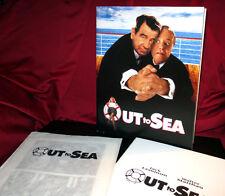 'Out to Sea'- Press Kit  - Jack Lemmon, Walter Mathau + Dyan Cannon - 2 Photos
