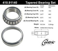 Wheel Bearing and Race Set-C-TEK Bearings Centric 410.91140E
