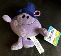Mr Men Mr Impossible Soft Toy Plush 7 Inch Rare Bnwt Tagged
