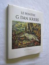 ALSACE: LE PEINTRE GEORGES DANIEL KREBS