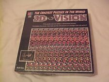 Used   3D Vision 500 Piece Puzzle.The Craziest Puzzles in the World 1994