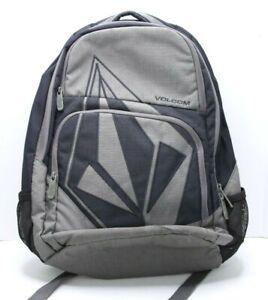 Volcom Stone Vintage Blue Gray Back Pack Boardwear W/ Diamond Logo