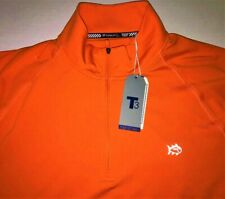 NWT SOUTHERN TIDE T3 MENS LARGE 1/4 ZIP UP LONG SLEEVE PERFORMANCE SHIRT - $125