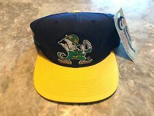 NEW Vintage Notre Dame Fighting Irish Block Head Sports Specialties SnapBack Hat