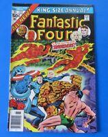 FANTASTIC FOUR KING-SIZE ANNUAL COMIC BOOK #11 ~ 1976 ~ VF/NM