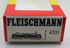 Fleischmann H0 4351 Leerkarton Schachtel OVP für E-Lok BR 120