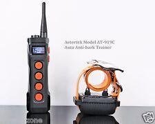 Aetertek 1000M Remote Waterproof Rechargeable Shock Collar w/Auto Anti bark