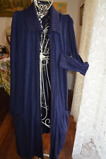 * NWT ** METALICUS WOOL BLEND MAXI CARDIGAN WRAP ** SZ ONE SIZE ** RRP $279.95