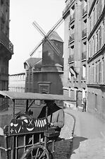 PARIS 1935 - Rémouleur Moulin Vendeur Restaurant Policiers 7 Négatifs 24x36 - 24