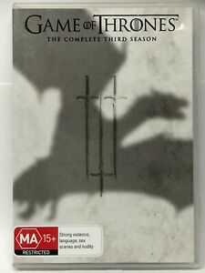 Game of Thrones - Complete Third Season - 5 DVD Set - AusPost with Tracking