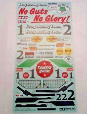 New Genuine Tamiya Frog Decals / Stickers (2005 Re-Release Version) 9400373