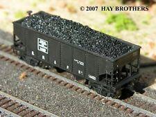 Hay Bros LUMP (RAW) COAL LOADS (3-pack) - Fits N-scale BOWSER GLa 2-Bay Hoppers