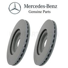 Mercedes W209 CLK500 Pair Set of 2 Front Disc Brake Rotors Vented 345 X 30mm OES