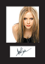 AVRIL LAVIGNE Signed Photo Print A5 Mounted Photo Print - FREE DELIVERY