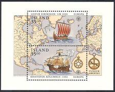 Islandia 1992 Columbus/barcos/Navegación/Náutica/exploración/transporte 2 V m/s n40346