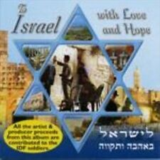 FREE US SHIP. on ANY 2 CDs! NEW CD To Israel With Love & Hope: To Israel With Lo