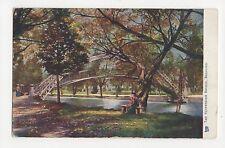 The Suspension Bridge, Bedford, Tuck 6167 Postcard, A659