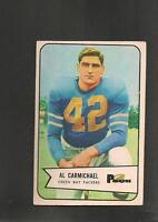 1954 Bowman # 115 Al Carmichael Vg-Ex