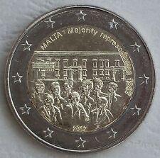 2 euro Malta 2012 mayoritario 1887 unz