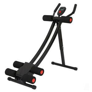 Ab Abdominal Exercise Machine Cruncher Trainer  Body Shaper Gym Equipment-USA