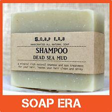 1 x Dead Sea Mud SHAMPOO Bar -all natural vegan handmade soap - Aussie made