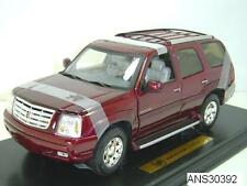 2002 - 2006 CADILLAC ESCALADE SUV BURGUNDY RED by ANSON 1:18 NEW LOWER PRICE