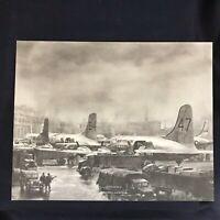 Vintage DC-4 McDonnell Douglas Vendor Aircraft Print