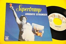 "SUPERTRAMP 7"" GOODBYE STRANGER ORIG ITALY 1979 MINT !!!!!!!!!!!!!!!  TOOOPPPP"