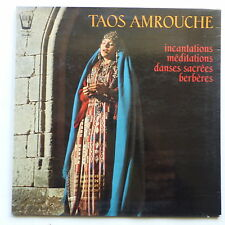 TAOS AMROUCHE Incantations meditations danses sacrees berberes ARN 34233